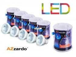 Zestaw 5szt. żarówek LED 7W WH GU10