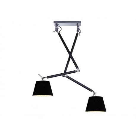 lampa azzardo ZYTA 2 BLACK
