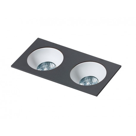 HUGO 2 DOWNLIGHT BLACK