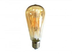 Żarówka Dekoracyjna LED E27 6W Golden Glass