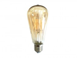 Żarówka Dekoracyjna LED E27 6W Smoke Glass
