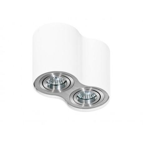 Lampa techniczna Bross 2 White/Alu