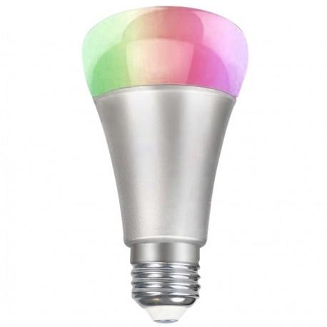 Żarówka LED 10W RGB Kolorowa 12 Kolorów E27 z pilotem
