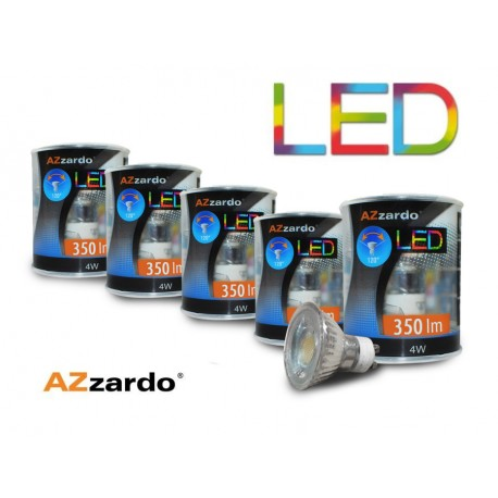 Zestaw 5szt. żarówek LED 4W GU10