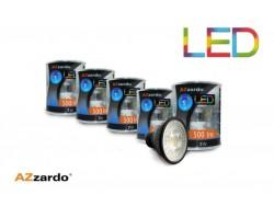 Zestaw 5szt. żarówek LED 7W BK GU10
