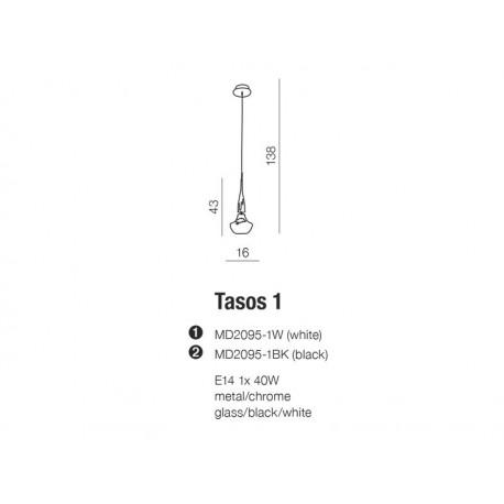 Lampa wisząca Tasos 1