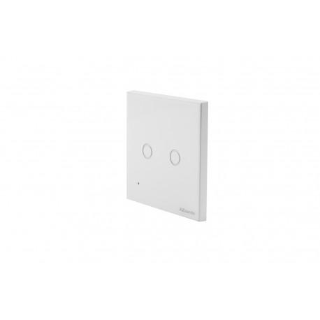 Włącznik podwójny ścienny WiFi AZzardo Smart