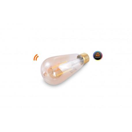 Żarówka LED WiFi E27 Amber 7W AZzardo Smart