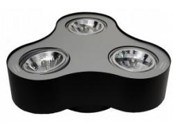 Lampa techniczna Pino 3 Black