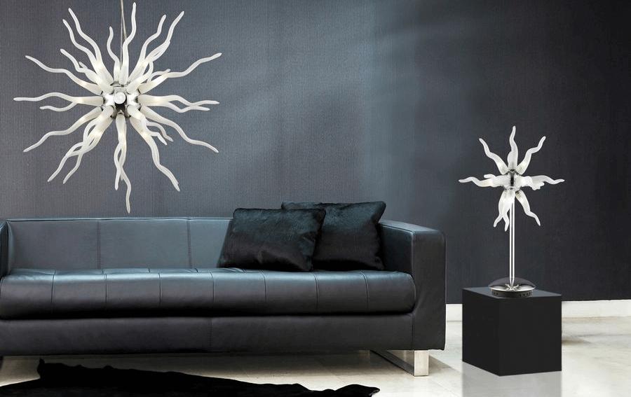 Dekorowanie oświetleniem domu lub mieszkania – światło jako gwiazda we wnętrzu