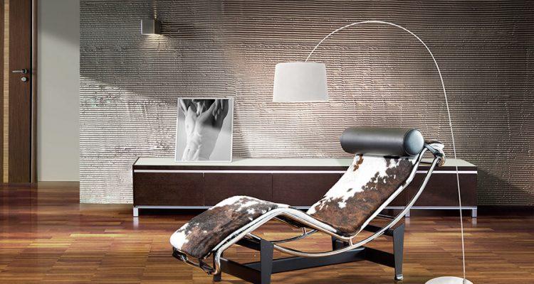 Lampa industrialna stojąca - nowoczesna aranżacja salonu